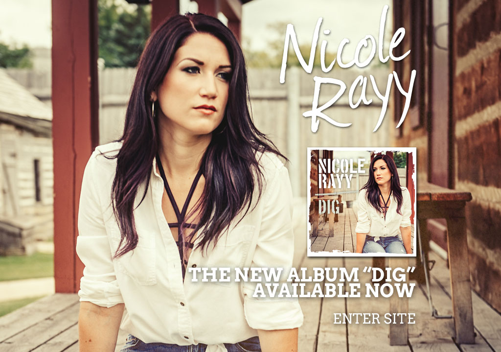Country/pop singer-songwriter Nicole Rayy is a compelling storyteller, powerful vocalist and incredible performer. New singe 'Don't' is available now!